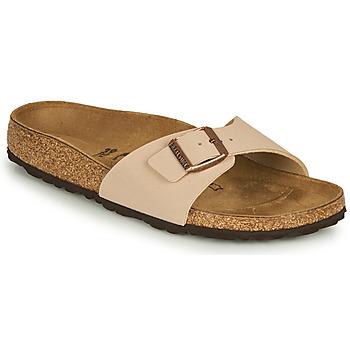 Sapatos Mulher Chinelos Birkenstock MADRID Bege
