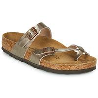 Sapatos Mulher Chinelos Birkenstock MAYARI Bronze