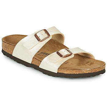 Sapatos Mulher Chinelos Birkenstock SYDNEY Cru