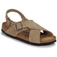 Sapatos Mulher Sandálias Birkenstock TULUM SFB LEATHER Toupeira