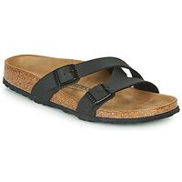 Sapatos Mulher Chinelos Birkenstock YAO BALANCE Preto