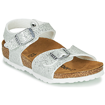 Sapatos Rapariga Sandálias Birkenstock RIO PLAIN Branco