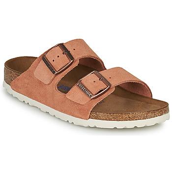 Sapatos Mulher Chinelos Birkenstock ARIZONA SFB LEATHER Ferrugem