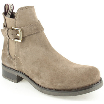 Sapatos Mulher Botins Alex L Boot Lady Taupe