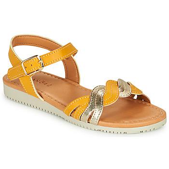 Sapatos Rapariga Sandálias André TRESSIA Amarelo