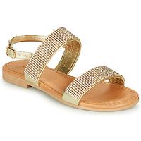Sapatos Rapariga Sandálias André DORIANNE Dourado