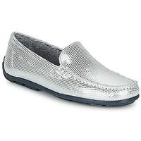 Sapatos Rapariga Mocassins André MANU Prata