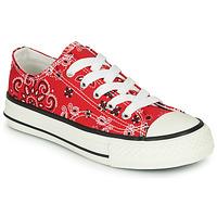 Sapatos Rapaz Sapatilhas André VOILY Vermelho