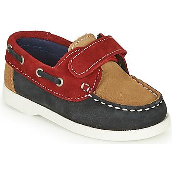 Sapatos Rapaz Sapatos André MALOT Azul