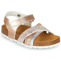 Sapatos Rapariga Sandálias André CARAIBE Rosa