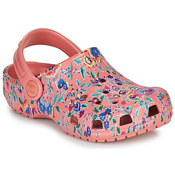 Sapatos Mulher Tamancos Crocs LIBERTY LONDON X CLASSIC LIBERTY GRAPHIC CLOG K Rosa