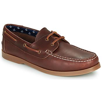 Sapatos Homem Sapato de vela André NAUTING Castanho