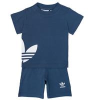 Textil Rapaz Conjunto adidas Originals CYLIA Azul