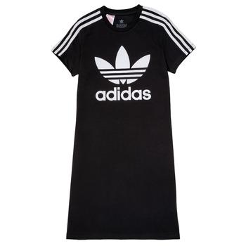 Textil Rapariga Vestidos curtos adidas Originals SALOME Preto