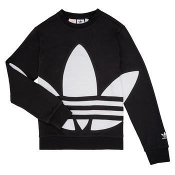 Textil Criança Sweats adidas Originals BRIGDA Preto