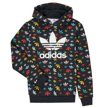 Textil Rapariga Sweats adidas Originals DLIA Preto