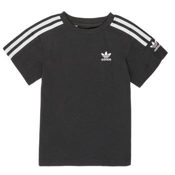 Textil Rapaz T-Shirt mangas curtas adidas Originals MINACHE Preto