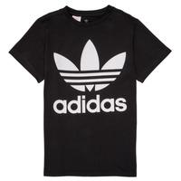 Textil Criança T-Shirt mangas curtas adidas Originals MAXENCE Preto