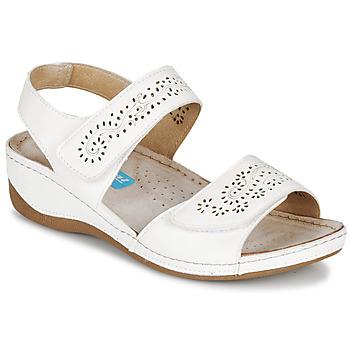 Sapatos Mulher Sandálias Damart MILANA Branco
