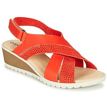 Sapatos Mulher Sandálias Damart MAYLO Ecru / dourado