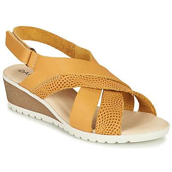 Sapatos Mulher Sandálias Damart MAYLO Amarelo