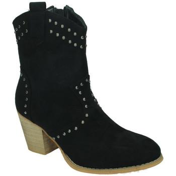 Sapatos Mulher Botins Flyfor  Preto