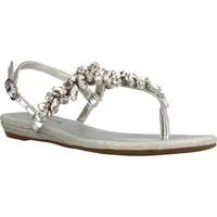 Sapatos Mulher Sandálias Café Noir INFRADITO Silver