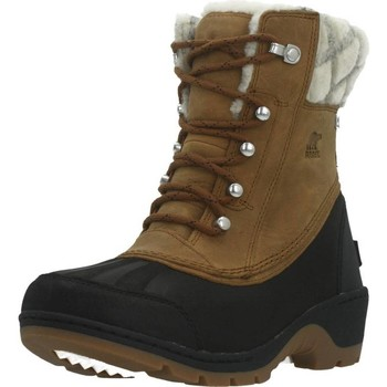 Sapatos Mulher Botas de neve Sorel WHISTLER MID Marron