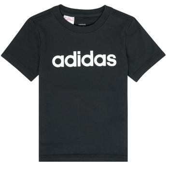 Textil Rapaz T-Shirt mangas curtas adidas Performance NATAZO Preto