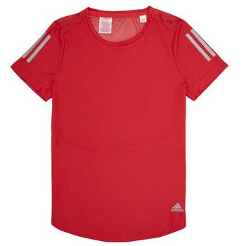 Textil Rapariga T-Shirt mangas curtas adidas Performance MELINDA Vermelho