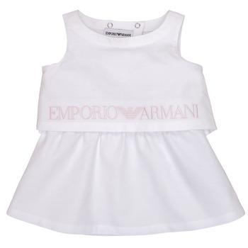 Textil Rapariga Vestidos curtos Emporio Armani Alberic Branco