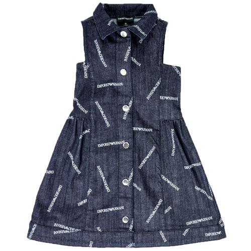 Textil Rapariga Vestidos curtos Emporio Armani Andy Azul