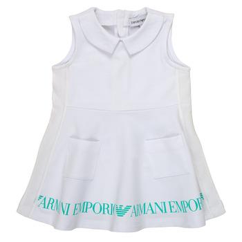 Textil Rapariga Vestidos curtos Emporio Armani Apollinaire Branco