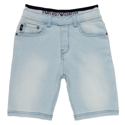 Textil Rapaz Shorts / Bermudas Emporio Armani Albert Azul