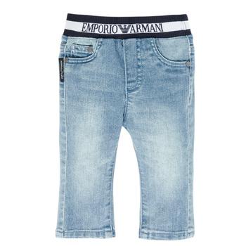 Textil Rapaz Calças Jeans Emporio Armani Ange Azul