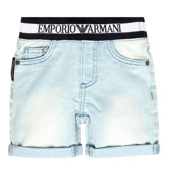 Textil Rapaz Shorts / Bermudas Emporio Armani Ariel Azul