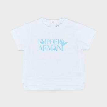 Textil Rapaz T-Shirt mangas curtas Emporio Armani Arthus Branco