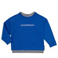 Textil Rapaz Sweats Emporio Armani Aurèle Azul