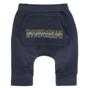 Textil Rapaz Calças de treino Emporio Armani Avery Marinho