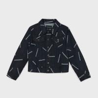 Textil Rapaz casacos de ganga Emporio Armani Angelo Azul