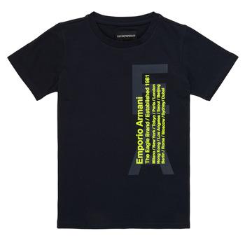 Textil Rapaz T-Shirt mangas curtas Emporio Armani Andoni Marinho