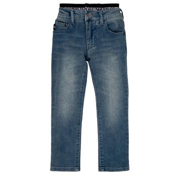 Textil Rapaz Calças Jeans Emporio Armani Annie Azul
