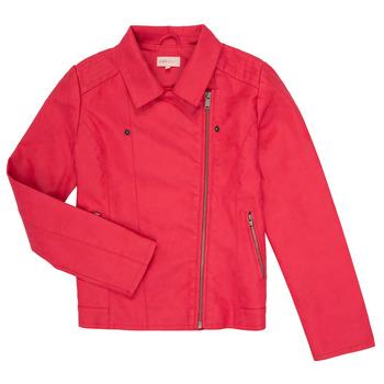 Textil Rapariga Casacos de couro/imitação couro Only KONCARLA Rosa