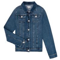 Textil Rapariga casacos de ganga Only KONSARA Azul