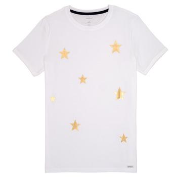 Textil Rapariga T-Shirt mangas curtas Name it NKFBONITA Rosa