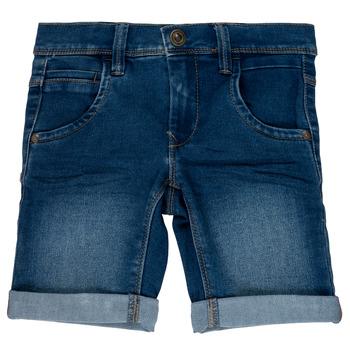 Textil Rapaz Shorts / Bermudas Name it NKMSOFUS Azul