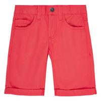 Textil Rapaz Shorts / Bermudas Name it NKMSOFUS TWIISAK Vermelho