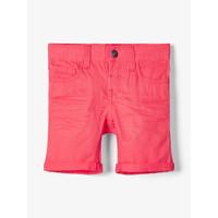 Textil Rapaz Shorts / Bermudas Name it NMMSOFUS TWIISKA Vermelho