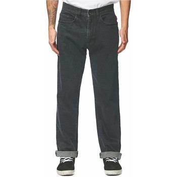 Textil Homem Calças Jeans Globe  Preto