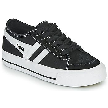 Sapatos Criança Sapatilhas Gola QUOTA II Preto / Branco